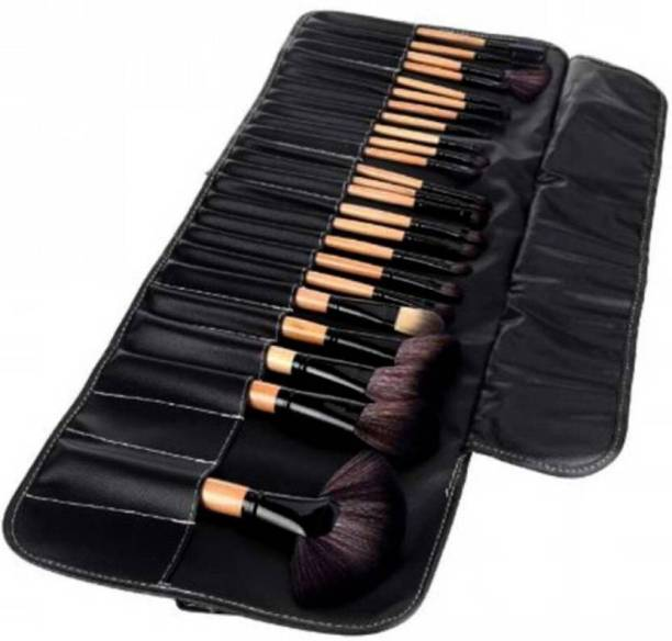 ebf0319b0c Naked Plus elltronic Professional Makeup Cosmetic Brush Set Kit Tool With  Roll Up Case0012