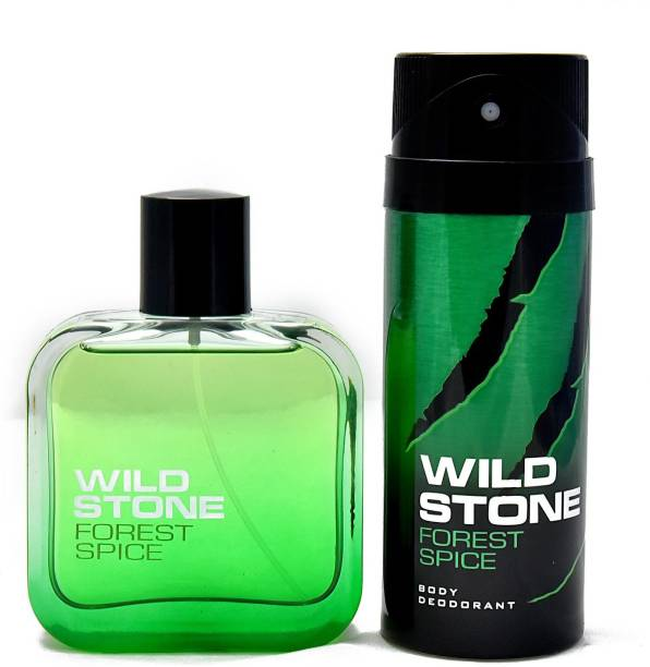 Wild Stone Forest Spice Deodorant and Perfume Body Mist  -  For Men