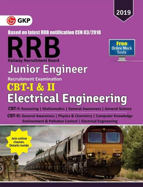RRB (Railway Recruitment Board) 2019 - Junior Engineer CBT -I & II - Electrical Engineering
