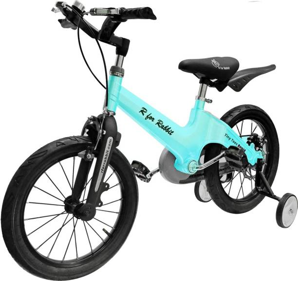 R for Rabbit Rapid Cycle-Smart Plug and Play Kids Bicycle -16/T for 4 to 7 Years-Lake Blue 16 T Road Cycle