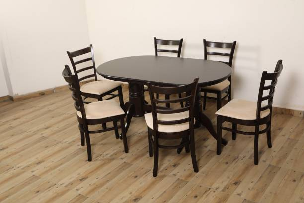 EROS Solid Wood 6 Seater Dining Set