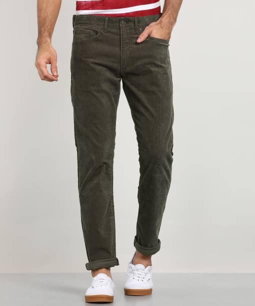 GAP Regular Men Green Jeans