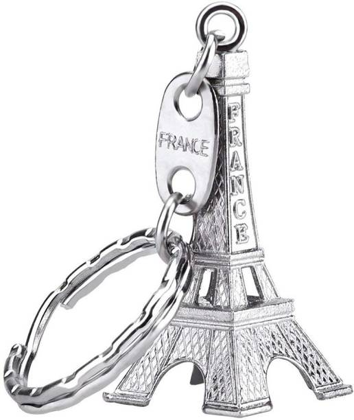 Flipkart SmartBuy France Paris Eiffel Tower Silver Steel Key Chain 8f86edc497ea