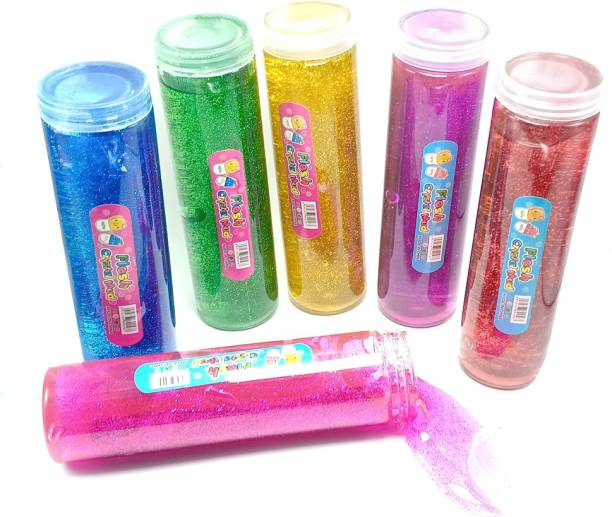 AncientKart Sparkling New Big Size Slime Putty Toy Set of 1 piece (8 inch)