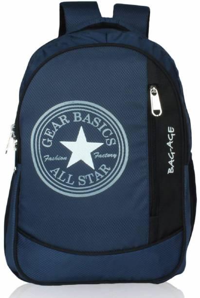 a56dbe7db0 Bag-Age Allstar Dark Blue College School Backpack (Dark Blue) 35.5 L  Backpack