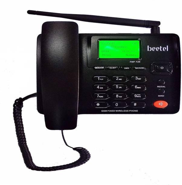 Beetel F2N DUAL SIM GSM Wireless GSM Landline Phone ( Black ) Cordless Landline Phone