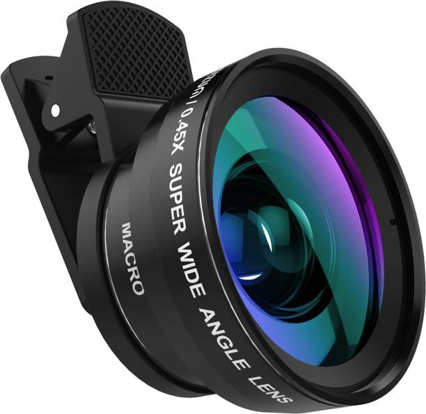 440353098535 TIZUM Universal Smartphone Lens Pro-Kit 2 in1 Wide Angle and Macro Lens  Mobile Phone