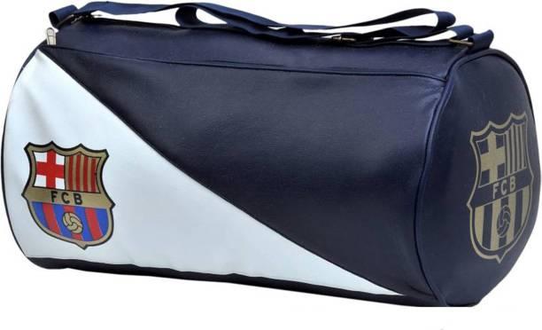 Rocket Sales FCB Stylish Gym Bag Duffle Bag Travel Bag (Leatherite,Size 30L)