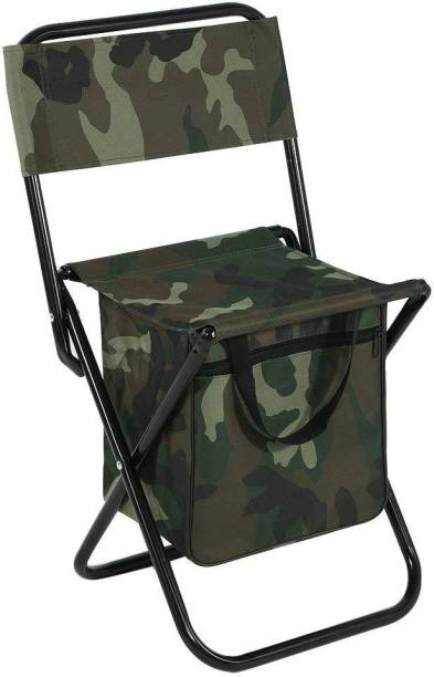 IRIS Folding Chair, Portable Camping Chair with Storage Bag for Fishing Hiking Picnic Outdoor & Cafeteria Stool