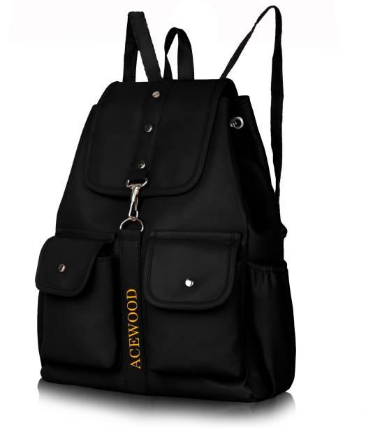 MUSRAT PU Leather Backpack School Bag Student Backpack Women Travel bag 10 L  Backpack 10.0 Backpack 06c622decf8f6