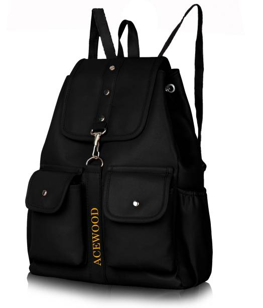 b5f621a7022d MUSRAT PU Leather Backpack School Bag Student Backpack Women Travel bag 10  L Backpack 10.0 Backpack