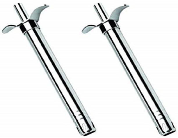Kreyam's Gas Lighter Pack of 2 Steel Gas Lighter