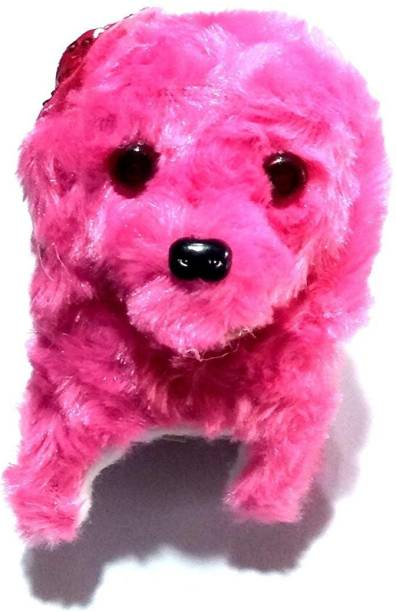 OM Soft Toy Fantastic Puppy Battery Operated Run Toy Kid, Color May Vary