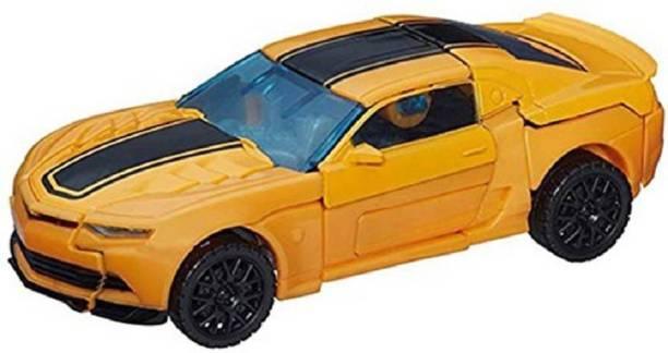 Shopjamke Robot to Car Converting Transformer Toy For Kids (Yellow)