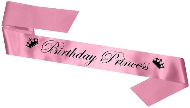 Skylofts Birthday Princess Sash for Girls Birthday Party Props