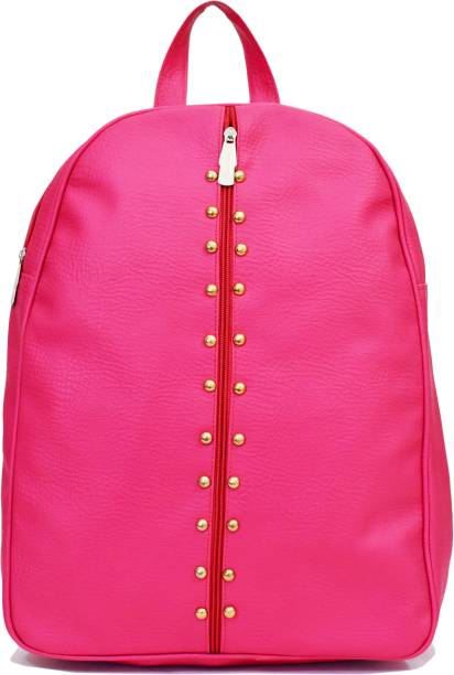 061b9c0c77 SPLICE PU Leather Backpack School Bag Student Backpack Women Travel bag 6 L  Backpack