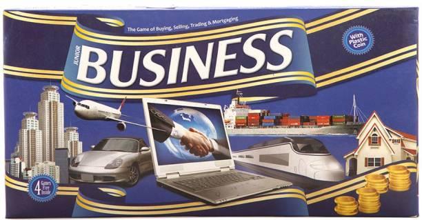 SWARUP BUSINESS SENIOR [PLASTIC COINS] Money & Assets Games Board Game