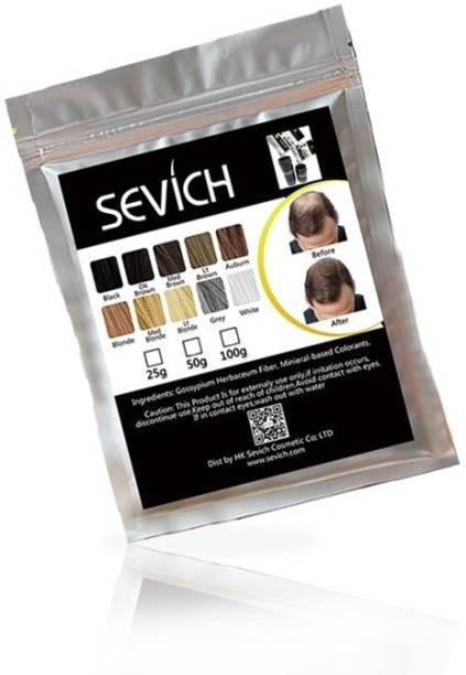 Sevich Refill Pack 2 Extreme Hair Volumizer keratin protein hair building fiber