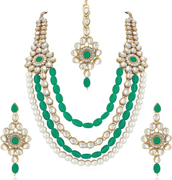 601e25a13e7d2 Pearl Jewellery - Buy Pearl Jewellery Online at Best Prices in India ...