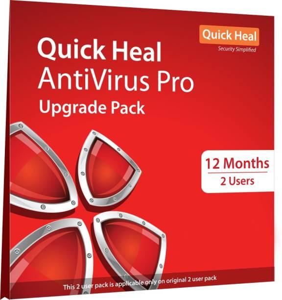 QUICK HEAL Anti-virus 2.0 User 1 Year