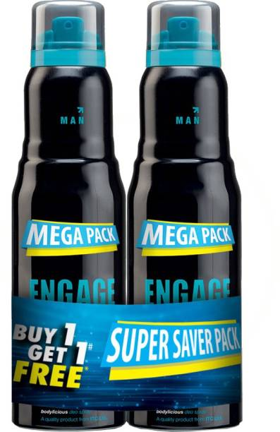 ENgAgE Mate Deodorant Spray  -  For Men