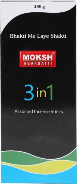 MOKSH 3 In 1 Agarbatti
