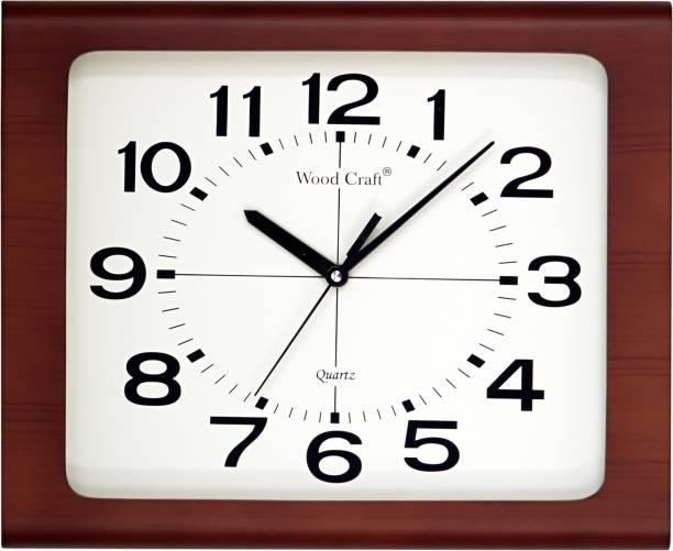 Wood Craft Wall Clocks Buy Wood Craft Wall Clocks Online At Best