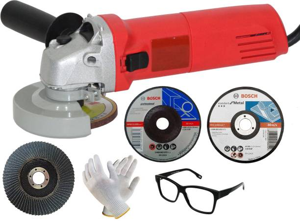 Digital Craft Portable Electric Angle Grinder With Side Handle Metal Cutting Machine Drill Engraver Rotary Power Tools Angle Grinder