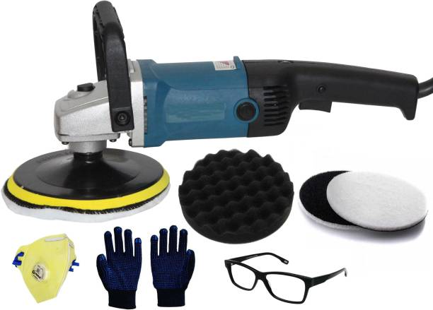 Digital Craft Adjustable Speed Car Buffer Polishing Waxing Machine Furniture Ceramic Vehicle Surface Paint Care Washing Polisher Tools Vehicle Polisher