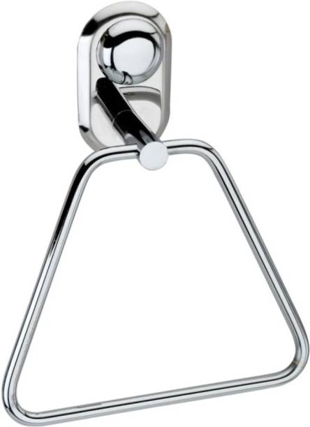 deeplax towel ring moxy triangle holder stand silver Towel Holder