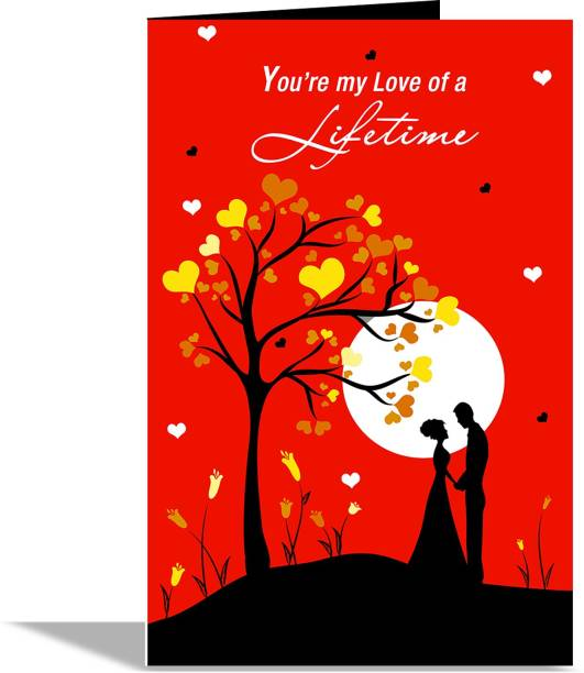 alwaysgift You Are My Love Of A Lifetime Valentines Day Greeting Card Greeting Card