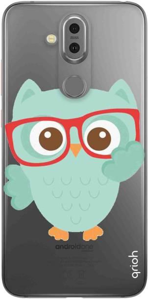 QRIOH Back Cover for Nokia 8.1
