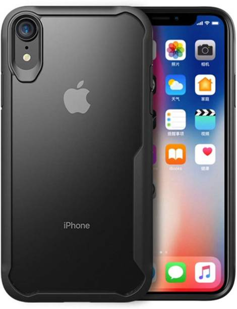 Unirock Back Cover for Apple iPhone XR (Black, 64 GB)