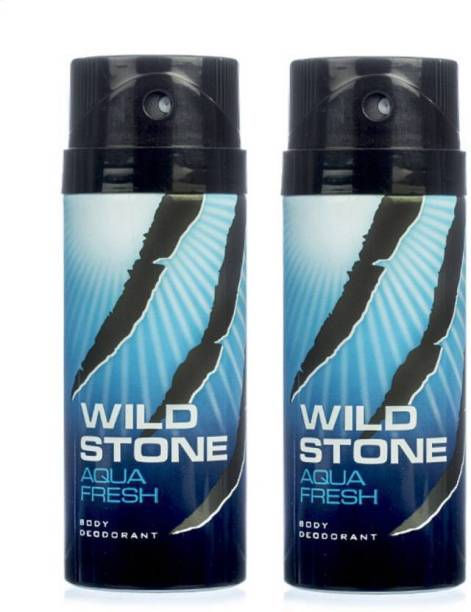 Wild Stone Aqua Fresh Deodorant Spray  -  For Men