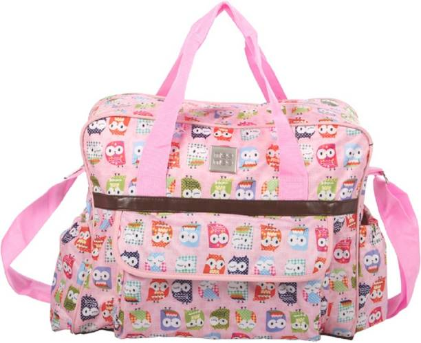 MeeMee Multipurpose Diaper Bag with Bottle Warmer   Changing Mat (Pink)  Nursery Bag 00cbc4ebdd