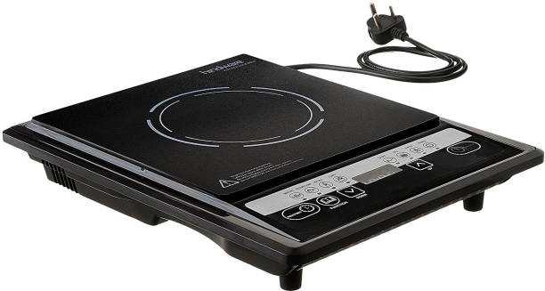 Hindware HI874450 Much Required Handy Aveo 1900 W With Timer,Blend Of Technology & Design Induction Cooktop