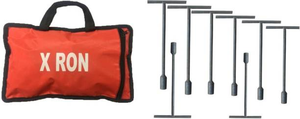 X RON 8 PCS SOCKET SET (8MM to 15 MM) WITH BAG Socket Set