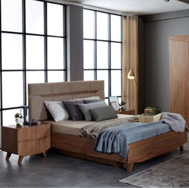EVOK Terence Engineered Wood King Hydraulic Bed