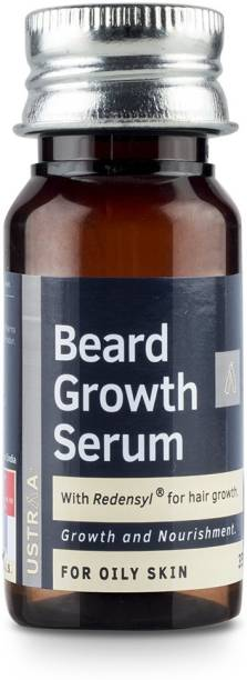 USTRAA Beard Growth Serum (For Oily Skin)