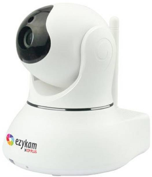 CP PLUS EZYKAM IP WiFi Wireless HD IP Security Camera CCTV [Watch LIVE Demo] (supports up to 128 GB SD card) Security Camera (500, 1 Channel) Security Camera