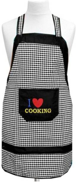 Dakshya Industries Cotton Home Use Apron - Free Size