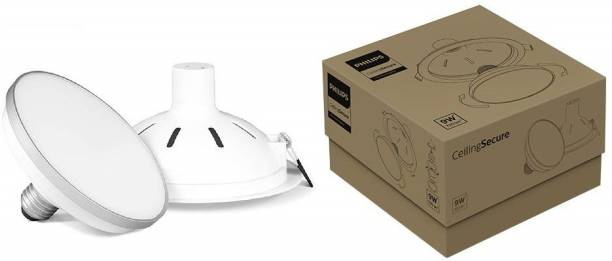 PHILIPS 4W CeilingSecure (Warm White, Round) Recessed Ceiling Lamp