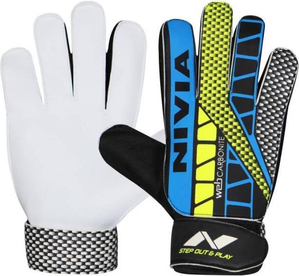 NIVIA Web Junior ( 5-7yrs) Football GK gloves Goalkeeping Gloves