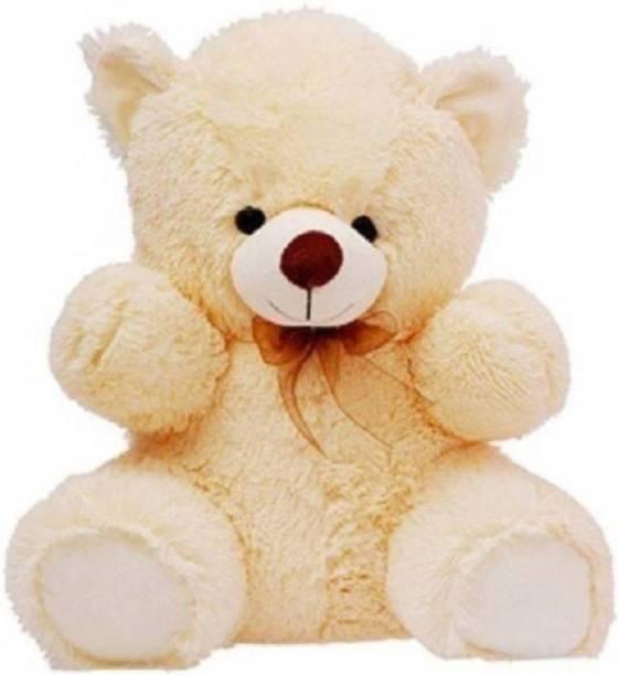 KIDZ Zone 2Feet Sitting Soft Hugable Teddy Bear for Gift  - 14 cm