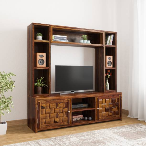 Wooden Tv Unit Buy Wooden Tv Units Cabinets At Best