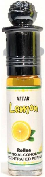 INDRA SUGANDH Attar Fruity Collection ~ LEMON Attar 6ml ~ Long Lasting Fragrance Floral Attar