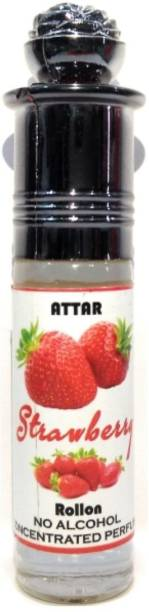 INDRA SUGANDH Attar Fruity Collection ~ STRAWBERRY Pure Perfume Sweet Fragrance Unisex Attar Perfume Floral Attar