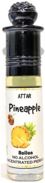 INDRA SUGANDH Attar Fruity Collection ~ PINEAPPLE Attar 6ml ~ Long Lasting Fragrance Floral Attar