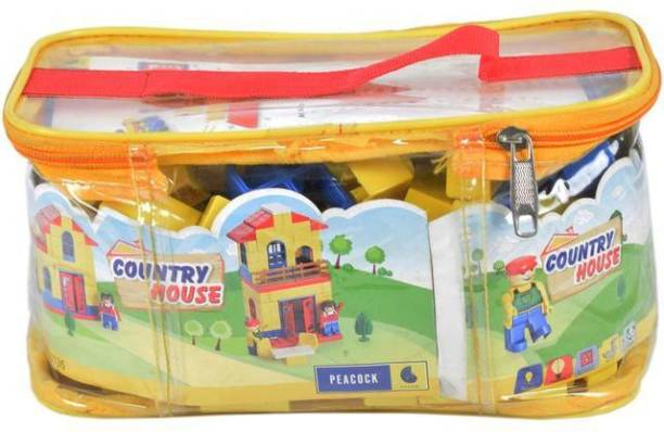 Peacock Kinder Blocks country house