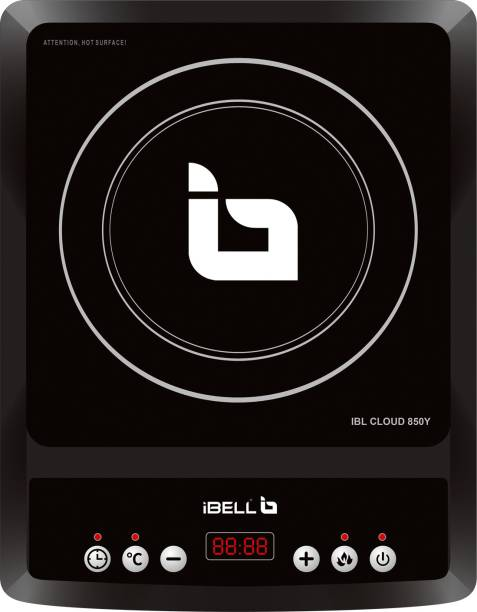 Ibell 2000 W Induction Cooktop with Auto Shut Off and Overheat Protection,BIS Certified . Induction Cooktop